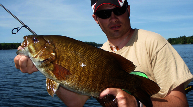 how to fish smallmouth in weeds