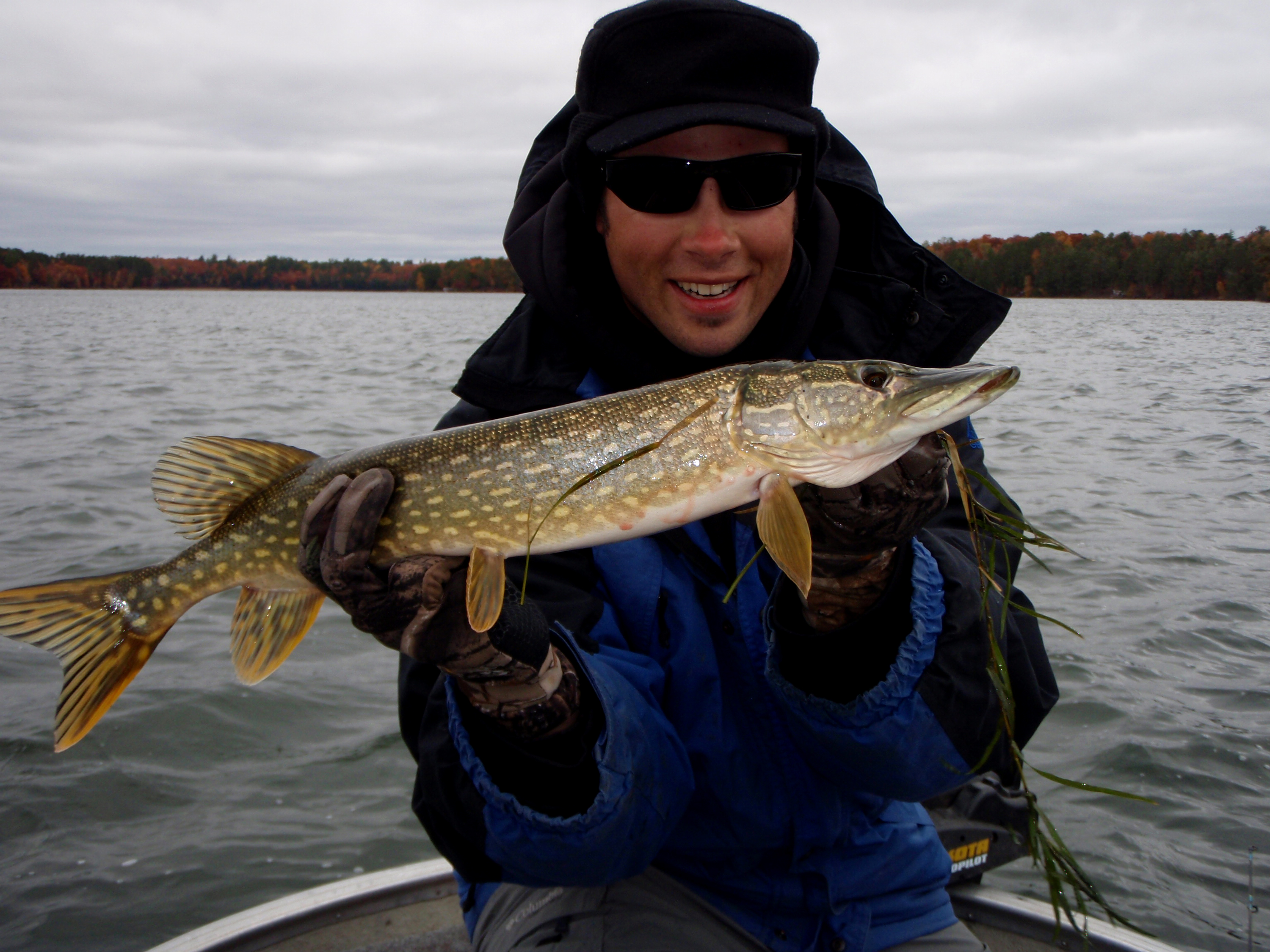 Northern pike on the cooldown andrew ragas fishing for Northern pike fishing
