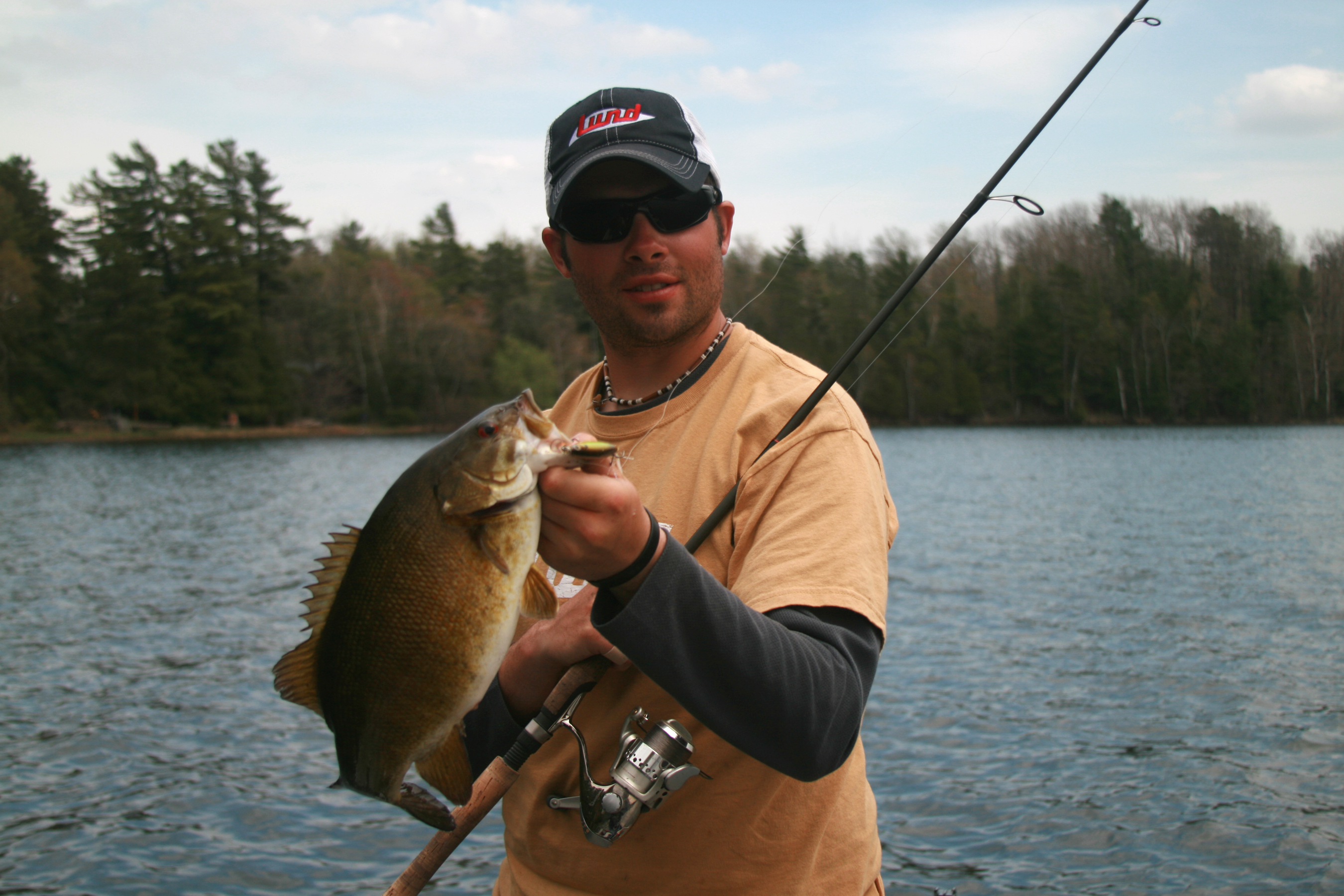 Spring meteorology and smallmouth bass andrew ragas fishing for Spring bass fishing
